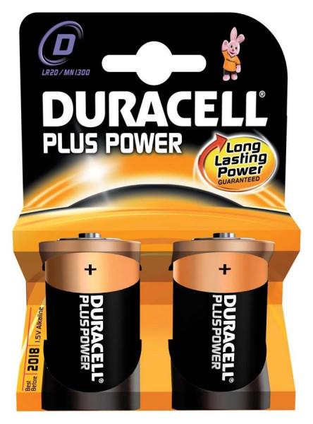 Duracell Plus Power D