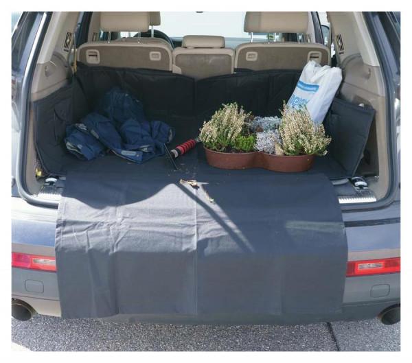Kofferraum-Schutzdecke mit hohem Seitenschutz