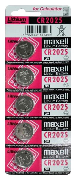 Maxell Lithium 2025 5er Blister