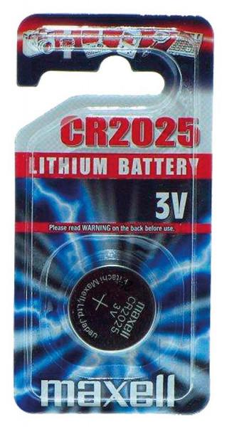 Maxell Lithium 2025 1er Blister