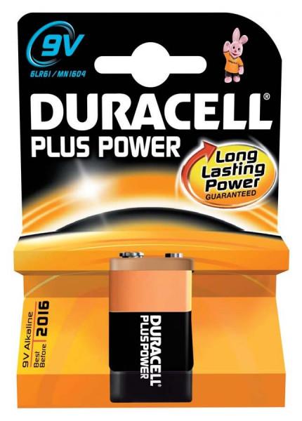 Duracell Plus Power 9V