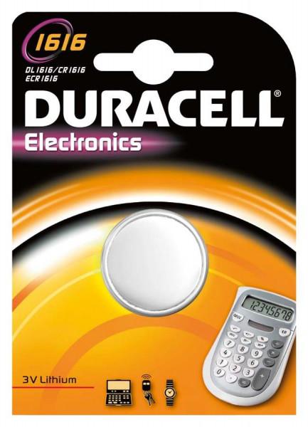 Duracell Lithium 1616 1er Blistger