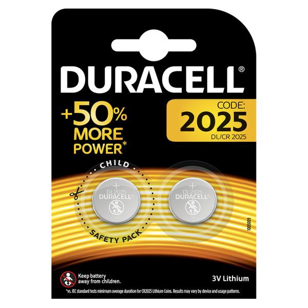 Duracell Lithium2025 2er Blister