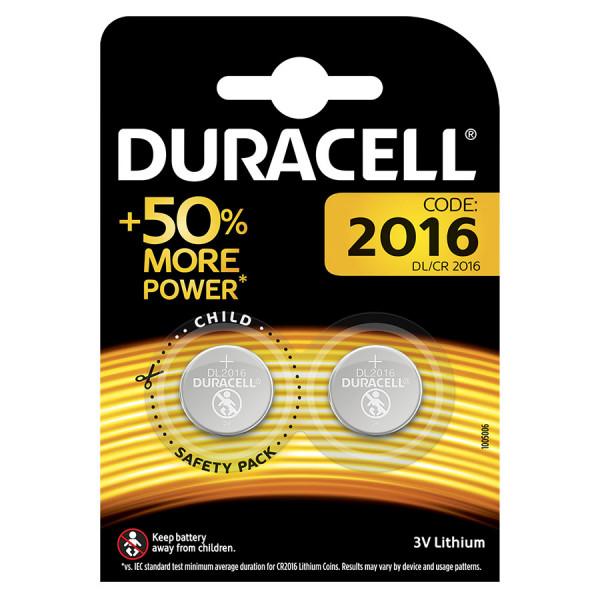 Duracell Lithium 2016 2er Blister