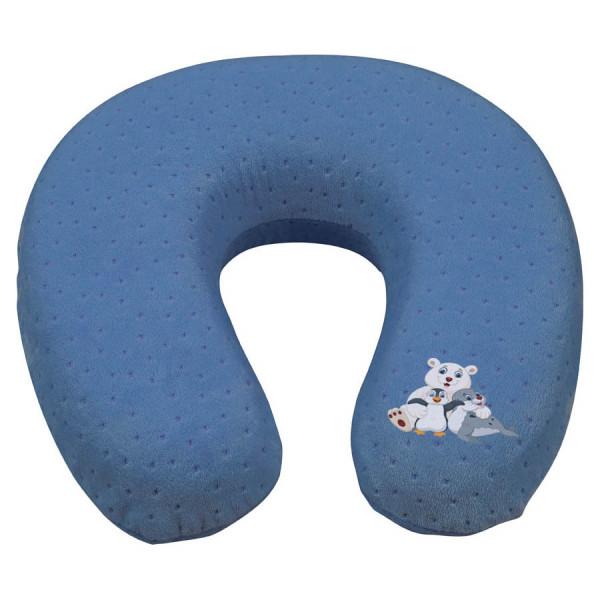 Nackenrolle blau