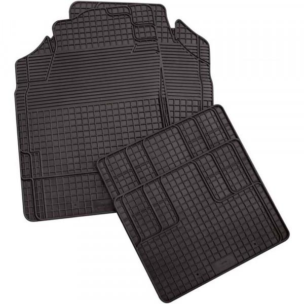 Megafit Gummimatte Größe 0 schwarz passend für Dacia Sandero II ab 11/2012 bis 12/2020