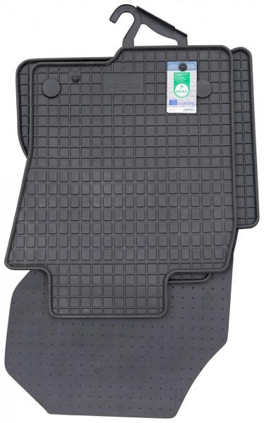 Gummimatte Passform 4-tlg. passend für Mercedes X-Klasse (470) ab 11/2017 bis jetzt
