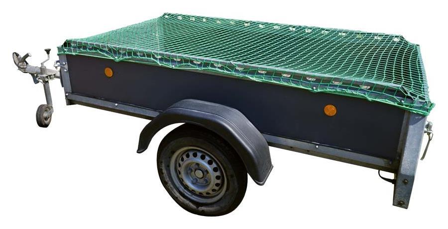 Anhängernetz 1,5x2,2 m, grün