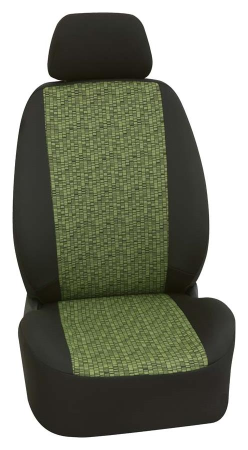 Sitzbezug First Class Mosaik grün Komplettgarnitur