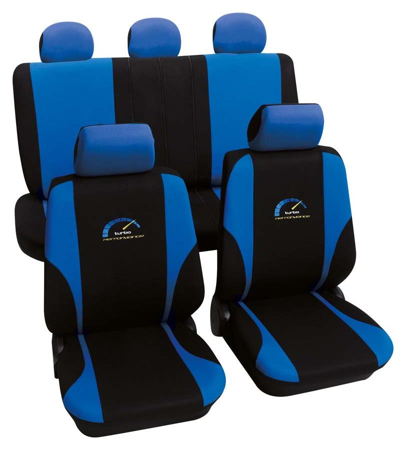 Sitzbezugset Universal Eco Class Turbo blau 11-teilig Größe SAB 1 Vario
