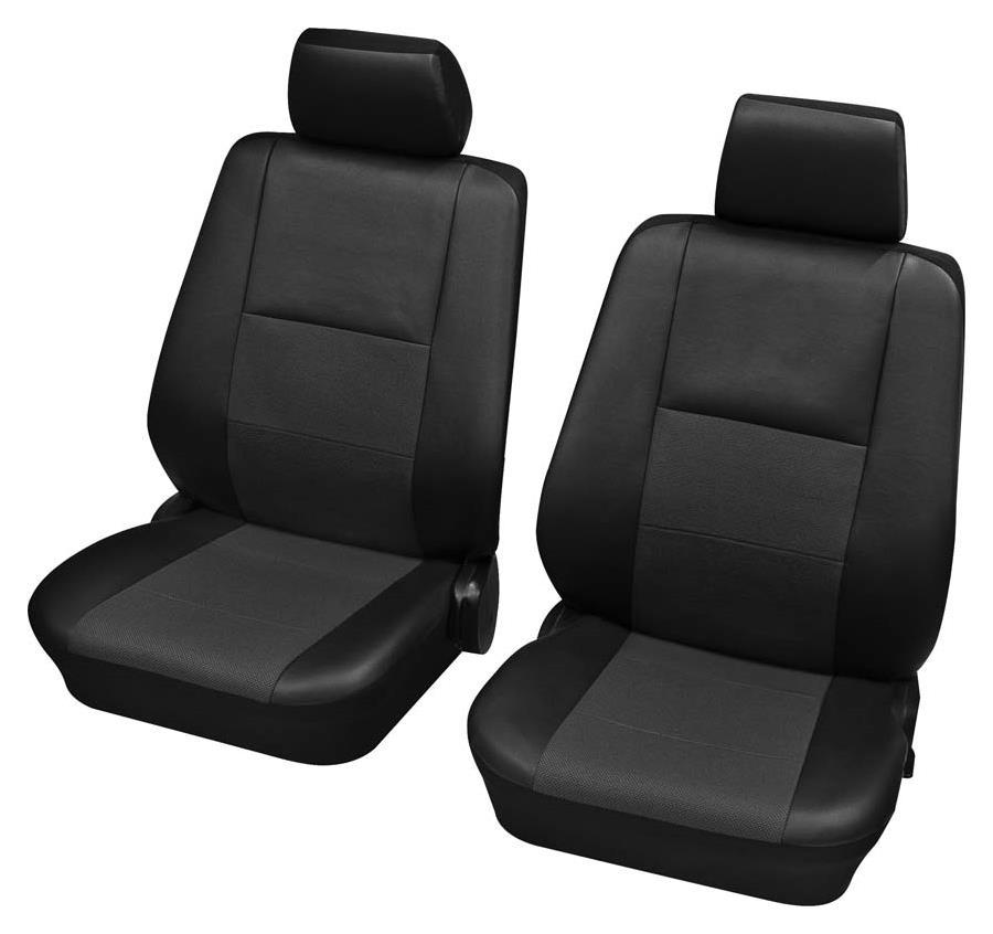 Sitzbezug Universal Eco Class Elba anthrazit Vordersitzgarnitur 4-teilig Größe SAB 2