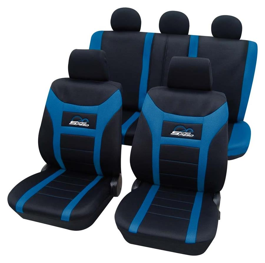 Sitzbezugset Universal Eco Class Super-Speed blau 11-teilig Größe SAB 1 Vario