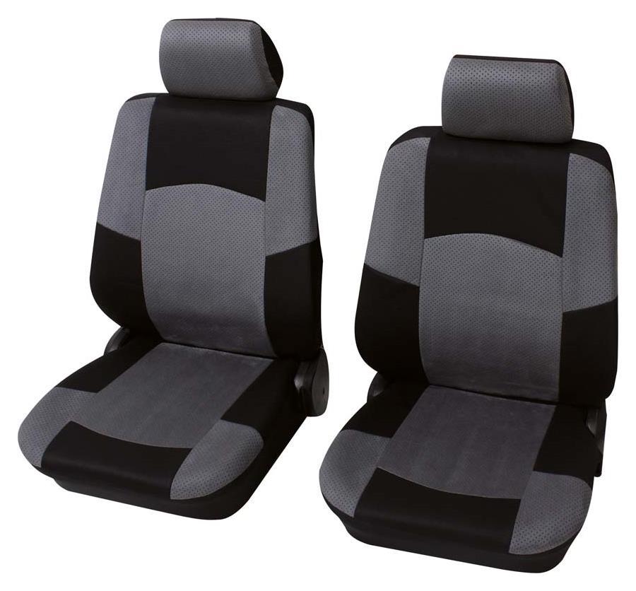 Sitzbezug Universal Eco Class Classic grau Vordersitzgarnitur 6-teilig Größe SAB 1