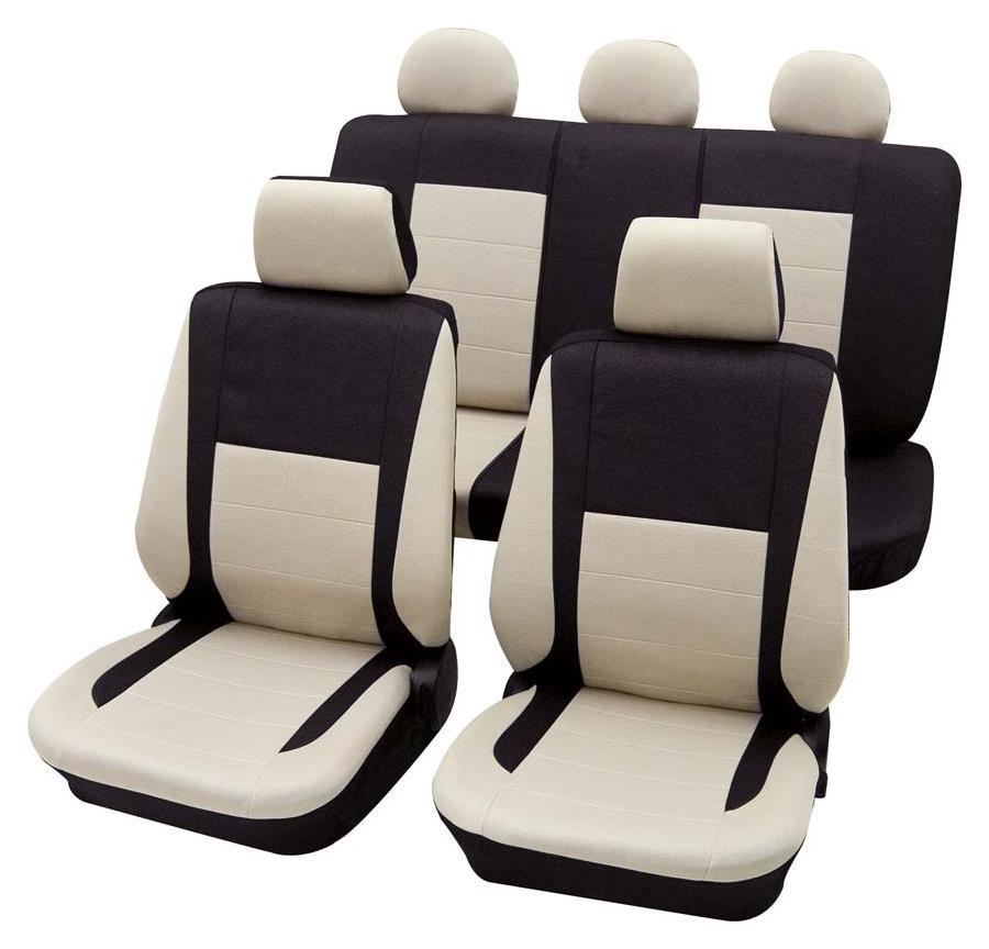 Sitzbezugset Universal Eco Class Elegance beige 17-teilig Größe SAB 1 Vario Plus
