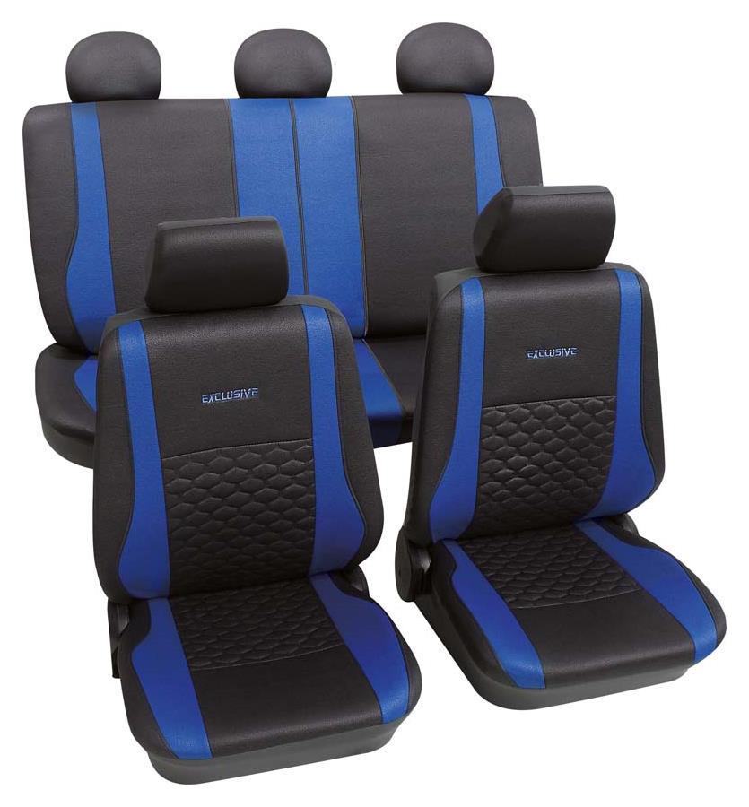 Sitzbezugset Universal Eco Class Exclusive blau 17-teilig Größe SAB 1 Vario Plus