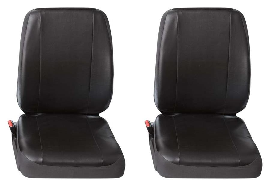Sitzbezug Universal Eco Class Profi 4 schwarz bestehend aus zwei Einzelsitzen 2-teilig