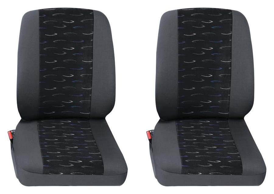 Sitzbezug Universal Eco Class Profi 2 blau bestehend aus zwei Einzelsitzen 2-teilig