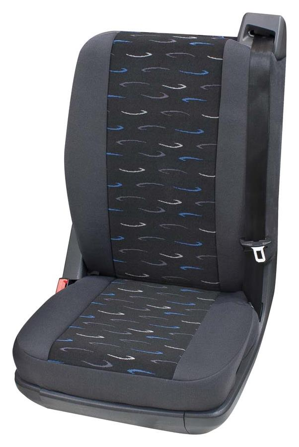 Sitzbezug Universal Eco Class Profi 2 blau bestehend aus Einzelsitz hinten 1-teilig