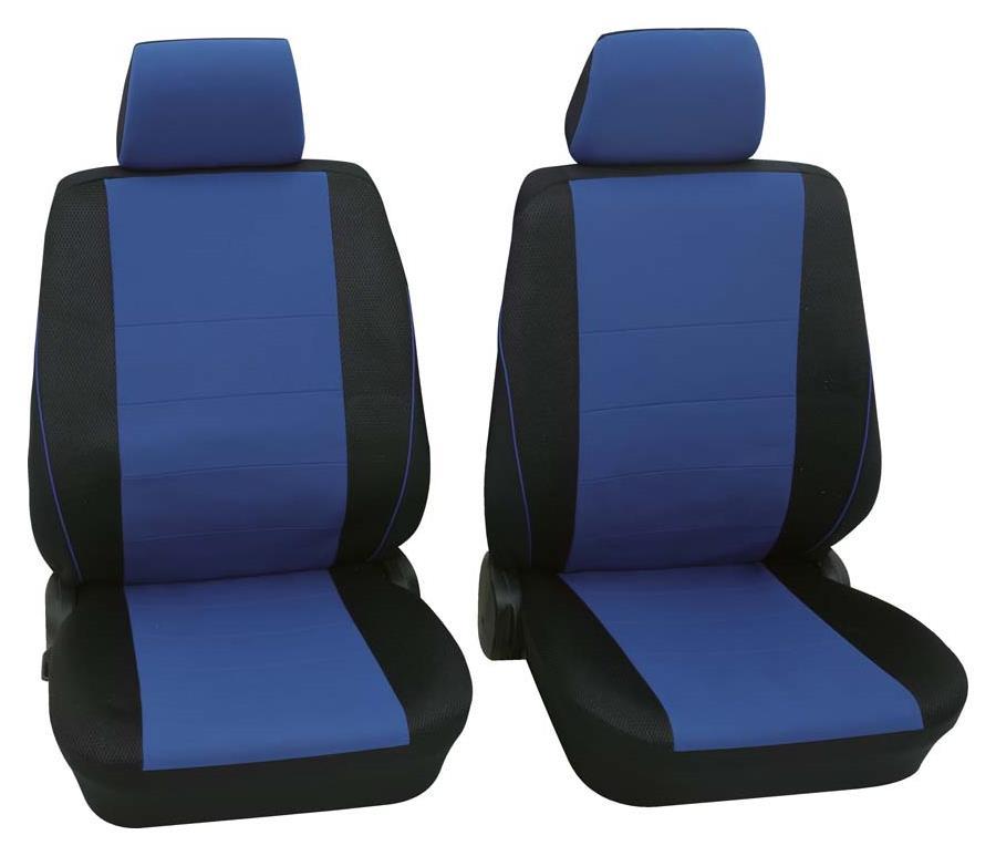 Sitzbezug Universal Eco Class Borneo blau Vordersitzgarnitur 6-teilig Größe SAB 1