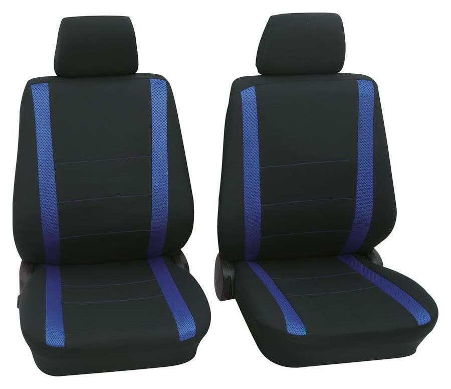Sitzbezug Universal Eco Class Samoa blau Vordersitzgarnitur 6-teilig Größe SAB 1