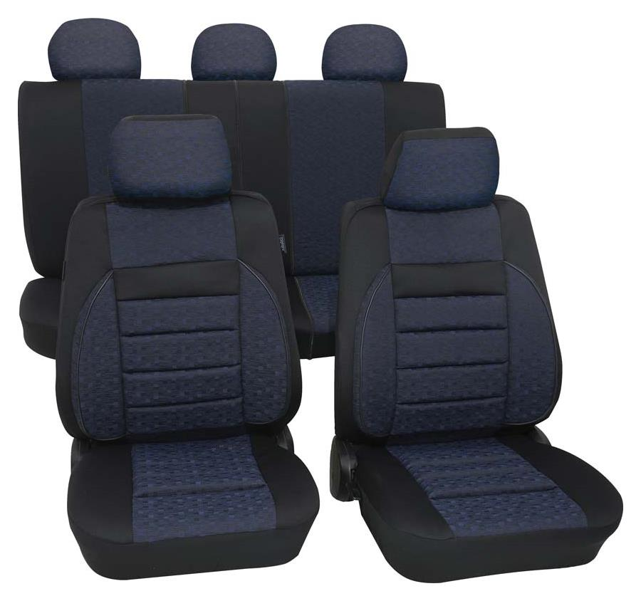 Sitzbezugset Universal Eco Class Relax blau 15-teilig Größe SAB 2 Vario Plus