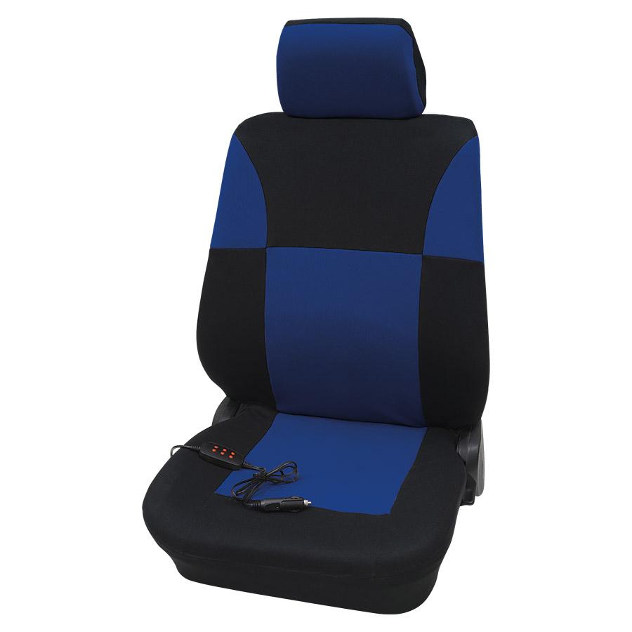 Sitzbezug Universal Eco Class Athen blau Fahrersitz beheizbar, 2-teilig, Größe SAB 2