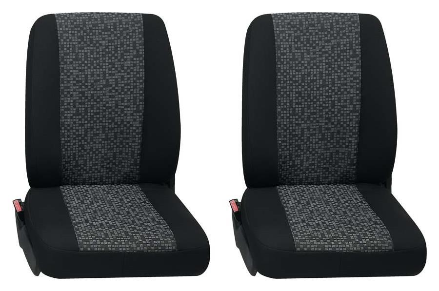 Sitzbezug Universal Business Class Rhein grau Zwei Einzelsitze 2-teilig
