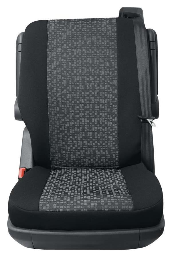 Sitzbezug Universal Business Class Rhein grau Einzelsitz hinten 1-teilig
