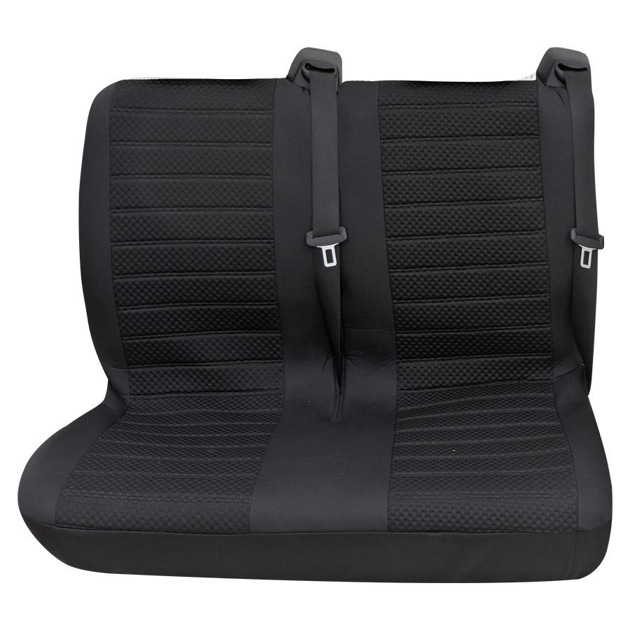 Sitzbezug Universal Business Class Fulda schwarz Doppelsitz hinten 1-teilig