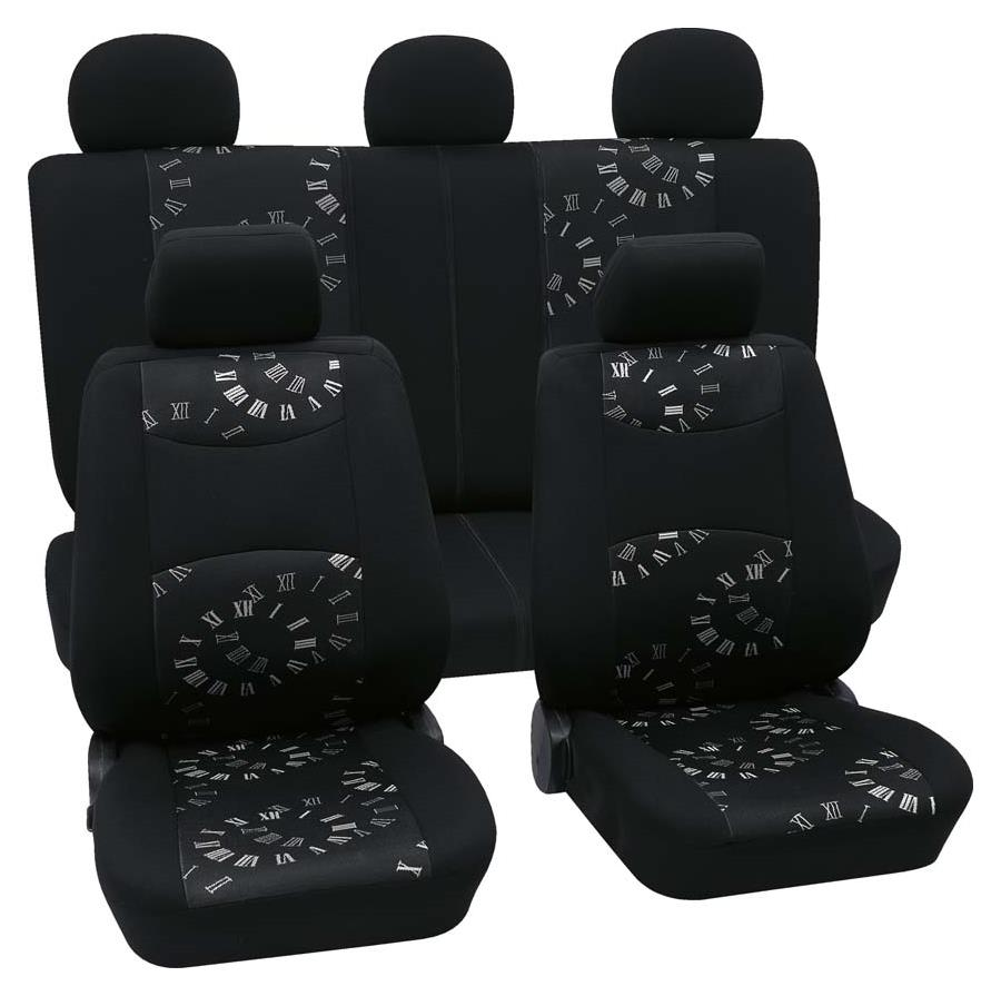 Sitzbezugset Universal Business Class Spree schwarz 17-teilig Größe SAB 1 Vario Plus
