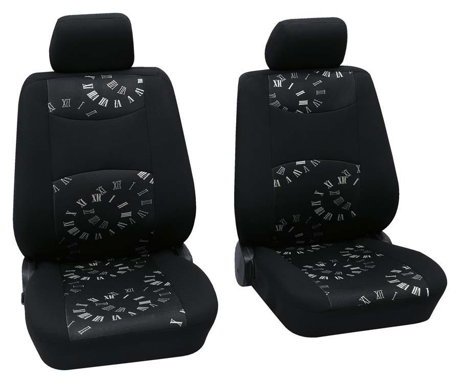 Sitzbezug Universal Business Class Spree schwarz Vordersitzgarnitur 6-teilig Größe SAB 1