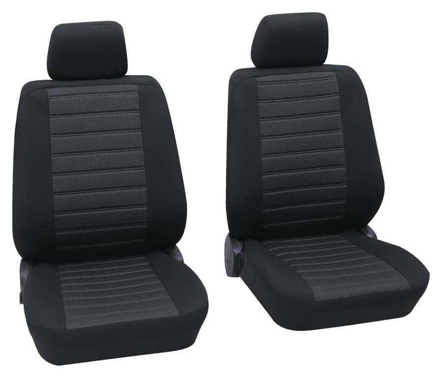 Sitzbezug Universal Business Class Inn schwarz Vordersitzgarnitur 6-teilig Größe SAB 1