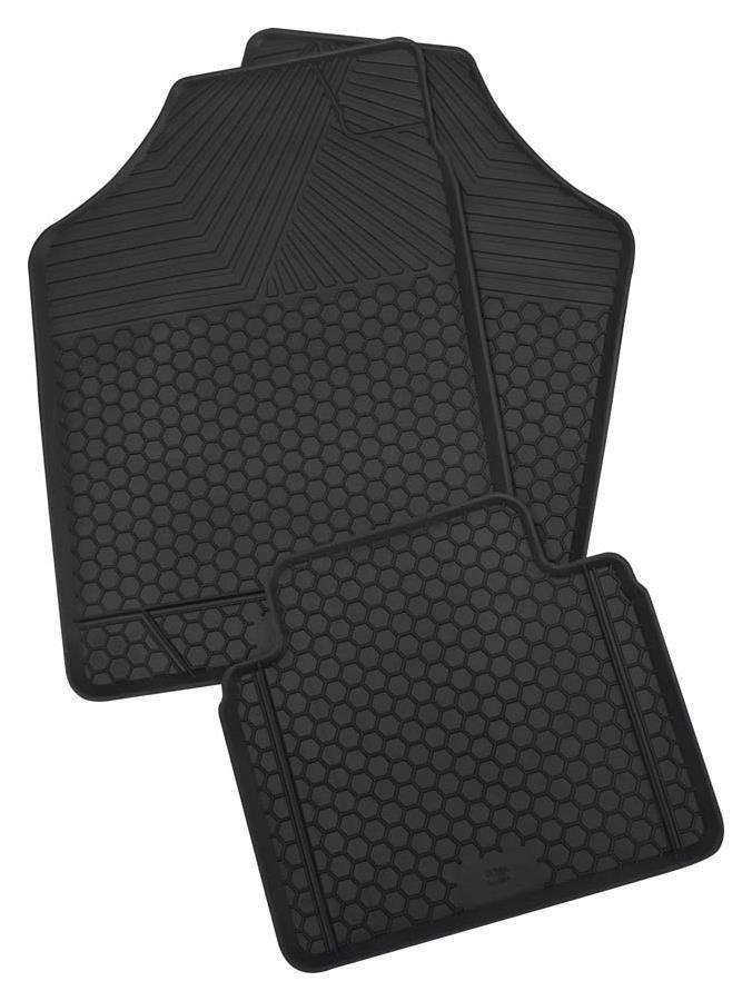 Gummimatte Universal 4-teilig schwarz Ultra Größe 1