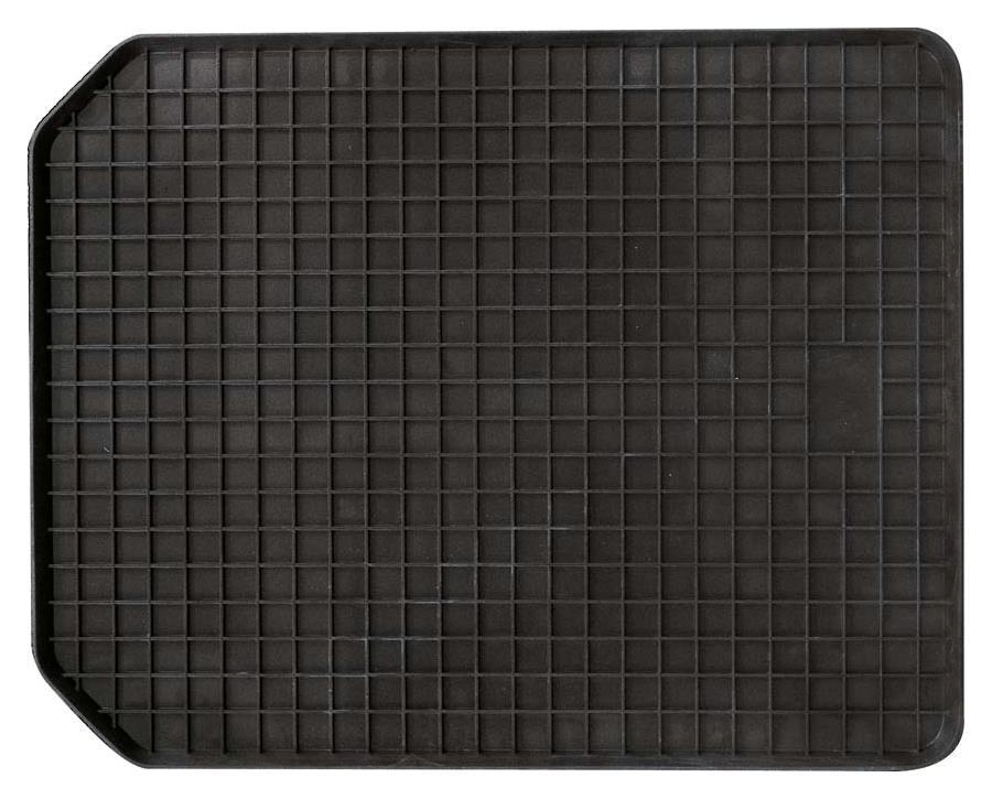 Schalenmatte 45 x 40 cm schwarz