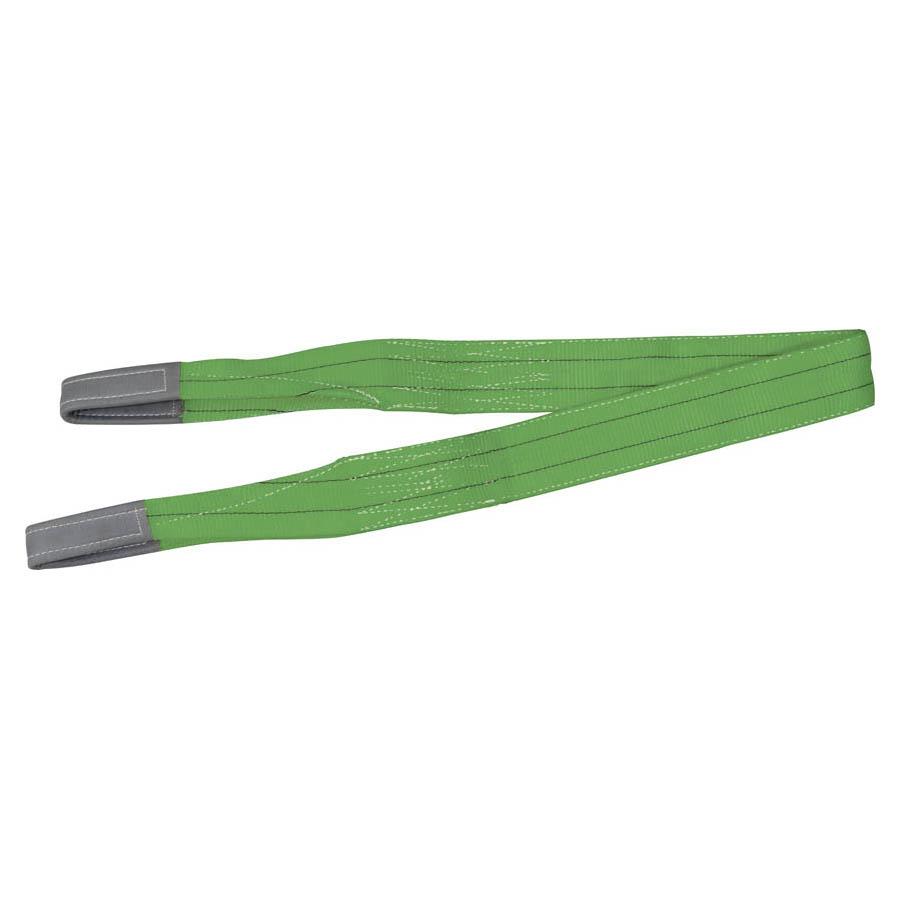 Hebeband WLL 2.000 kg, Länge 2 m, Breite 75 mm, grün
