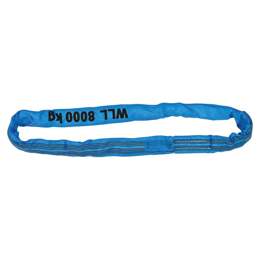 Rundschlinge WLL 8.000 kg, Länge 2 m, Umfang 4 m, blau