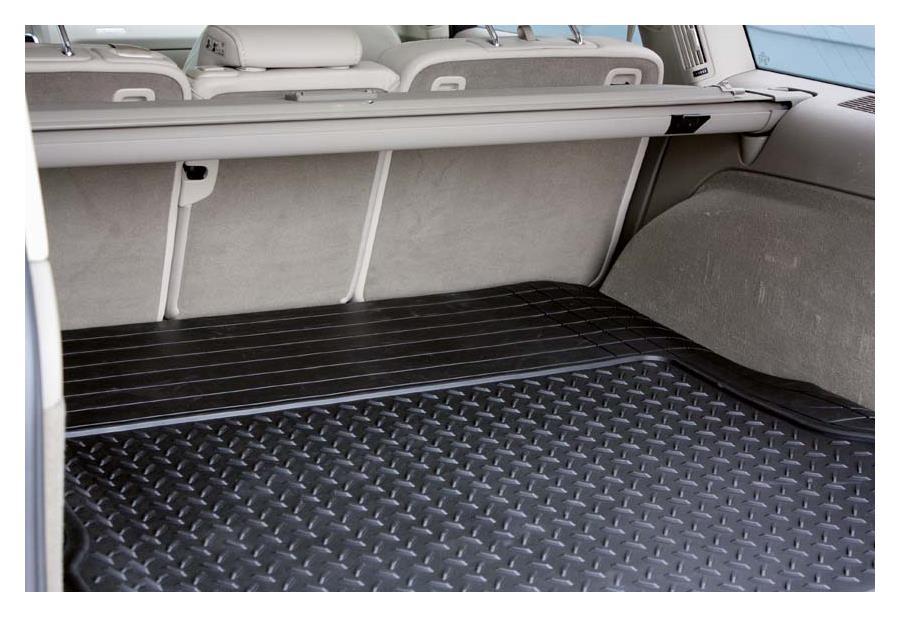 Kofferraummatte zuschneidbar 110 x 144 cm Material: Kunststoff, Farbe: schwarz
