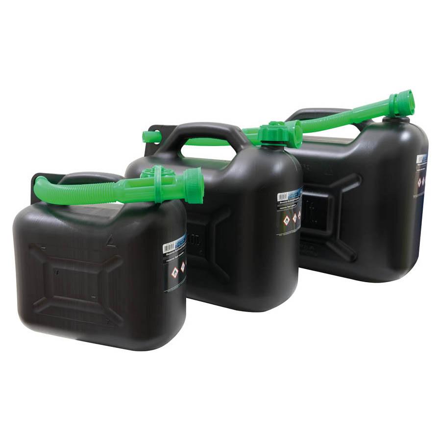 Reserve-Kraftstoff-Kanister 5 Liter mit UN Zulassung  schwarz