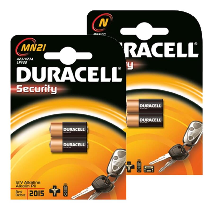 Duracell Security MN9100 Batterie DSMN9100B2, 2er Blister