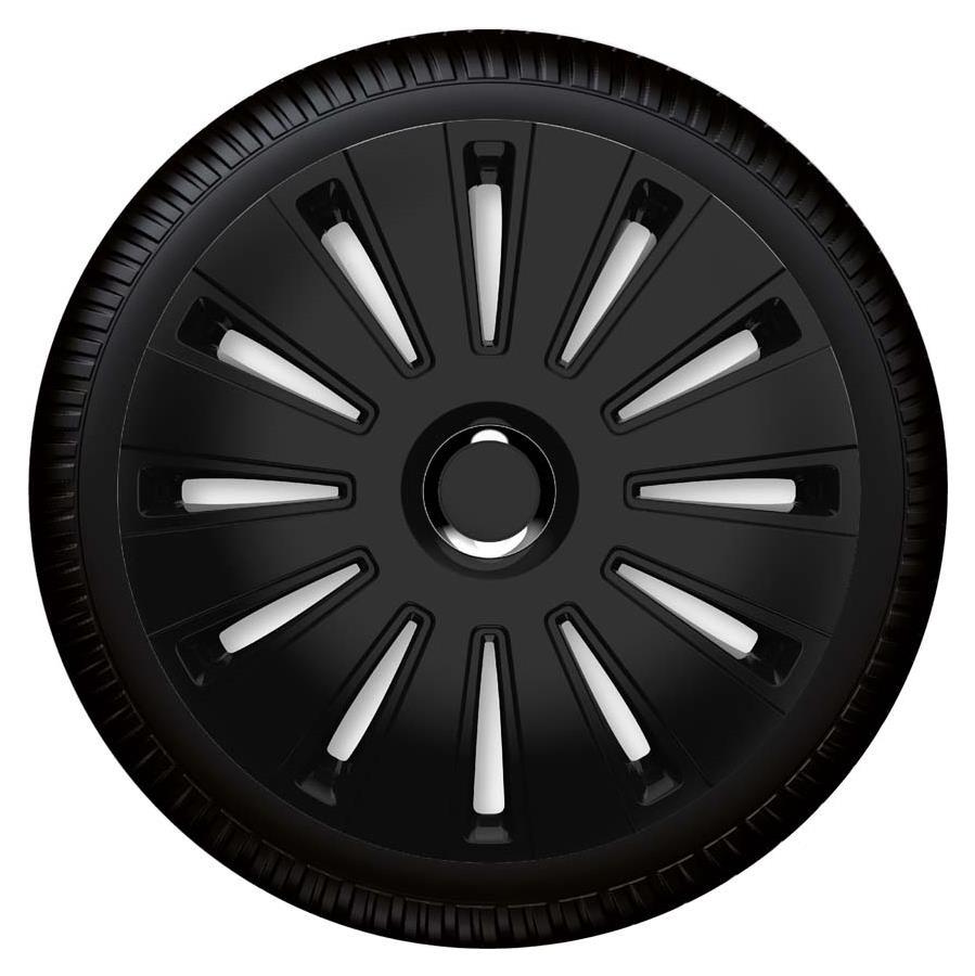 Radzierblende Daytona pro black schwarz Größe 14