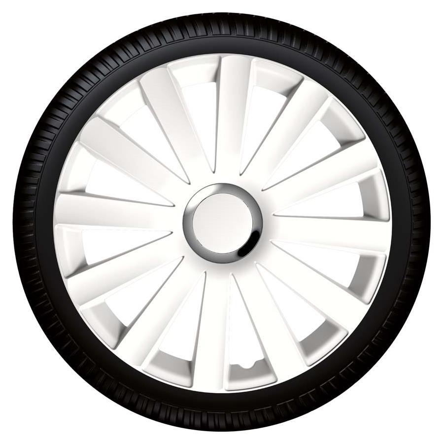 Radzierblende Spyder pro white weiss Größe 14