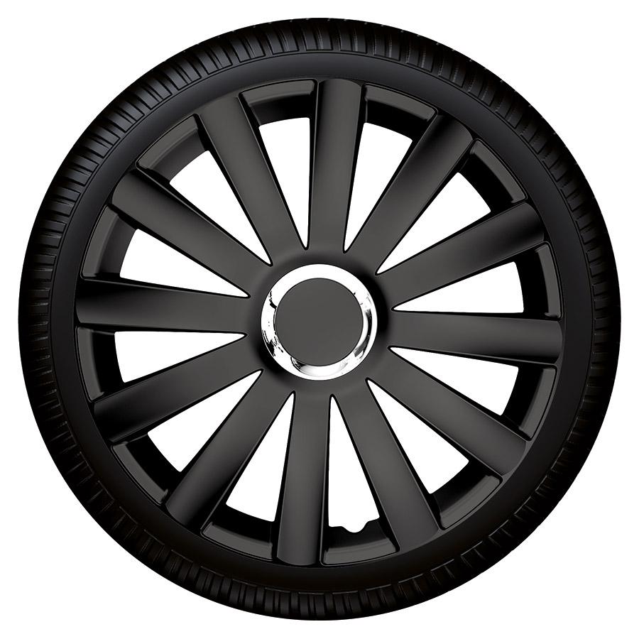 Radzierblende Spyder pro black schwarz Größe 14