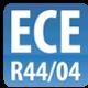 Kindersitzerhöhung geprüft nach ECE-R44/04