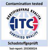 DEKRA geprüft und zertifiziert - geruchsneutral - ohne PVC - schadstoffgeprüft