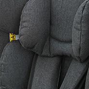 bequeme Gurtpolsterung, Kindersitz, Modell King