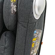 tiefe Sitzschale für mehr Sicherheit, Kindersitz, Modell King
