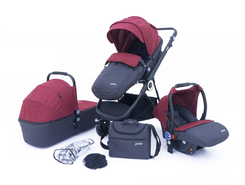 Multi Traveller 3-in-1 Kombi-Kinderwagenset, 10-teilig